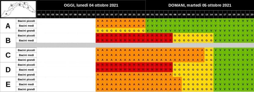 Liguria maltempo, aggiornamento in diretta dal presidente Toti