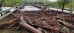 Crollato 3 ponte Lago dei Gulli