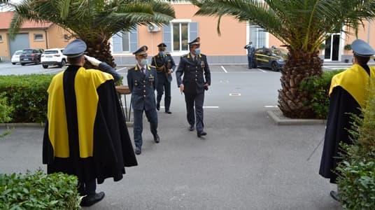 Finanza Savona riceve la visita del Gen. Corpo d'Armata Fabrizio Carrarini