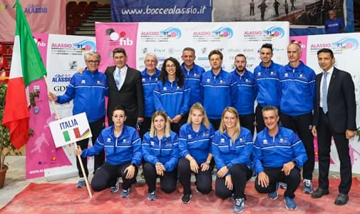 Caterina Venturini Campione del Mondo individuale di Bocce per l'Italia