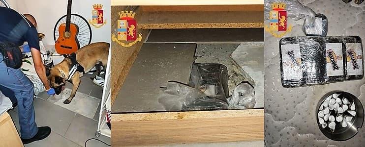 Negozio della droga in corso Perrone a Genova, 2 arrestati