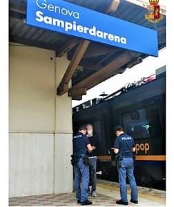 Ricercato 31enne di Savona catturato alla stazione di Sampierdarena