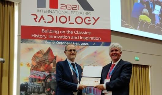 Andrea Rossi direttore Gaslini membro American Society Pediatric Radiology